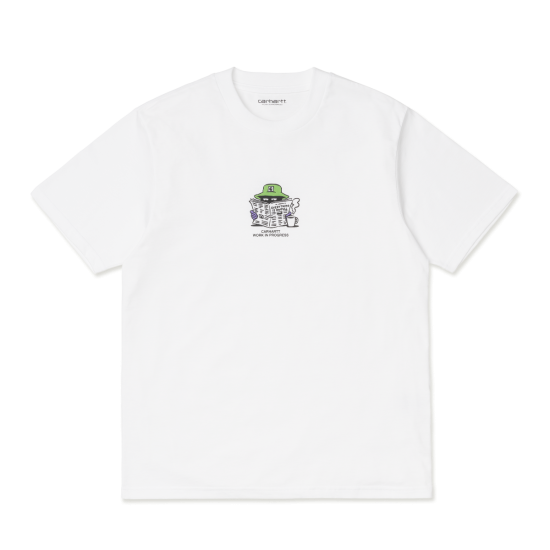 Carhartt Wip Everything Is Awful T-Shirt White
