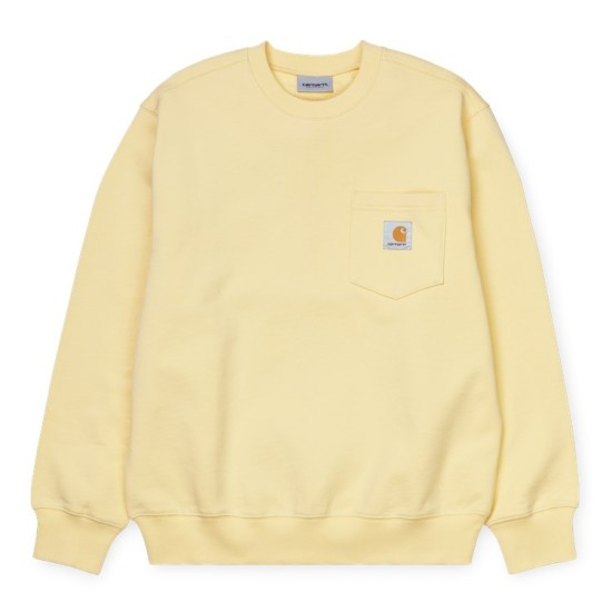 Carhartt Wip Pocket Sweatshirt Fresco Beige
