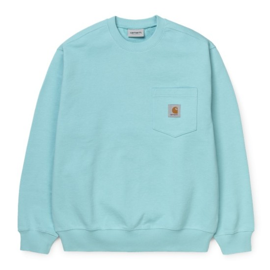 Carhartt Wip Pocket Sweatshirt Window Blue