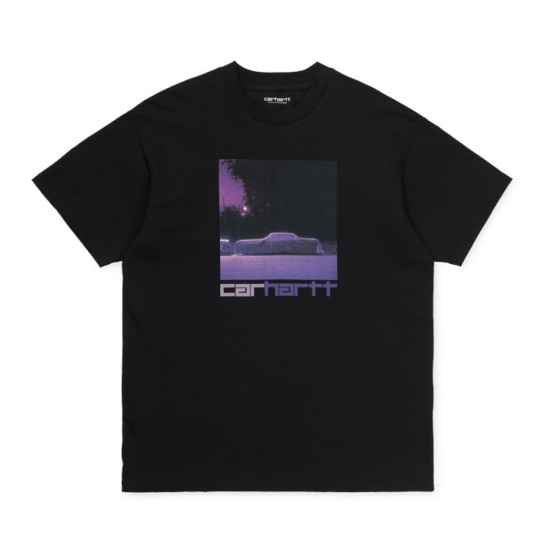 Carhartt Wip Purple Car T-Shirt Black
