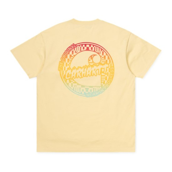 Carhartt Wip S/S Flame T-Shirt Fresco Yellow