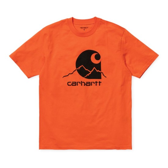 Carhartt Wip S/S Outdoor C T-Shirt Clockwork Orange / Black