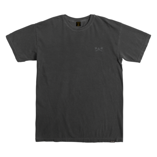 Dark Seas Go To Pigment T-Shirt Black