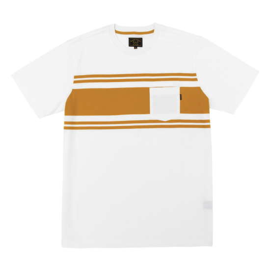 Dark Seas Lopez Knit T-Shirt White