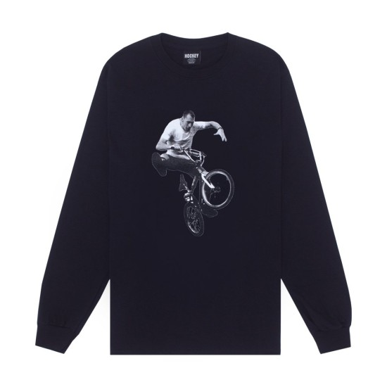 Hockey Fecke Long Sleeve T-Shirt Black