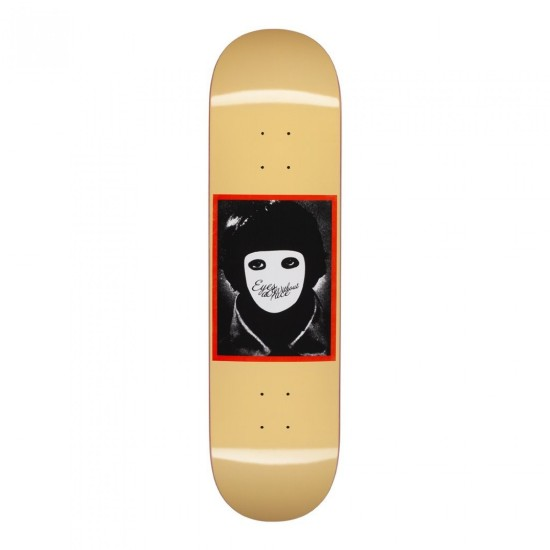 Hockey No Face Skate Deck Yellow