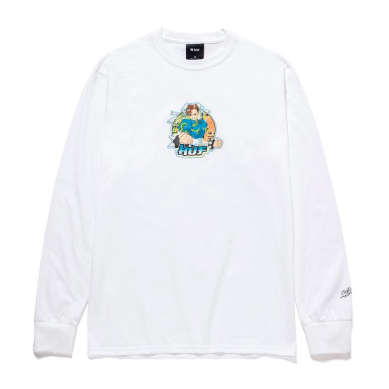 HUF x Streetfighter 2 Chun-Li Long Sleeve T-Shirt