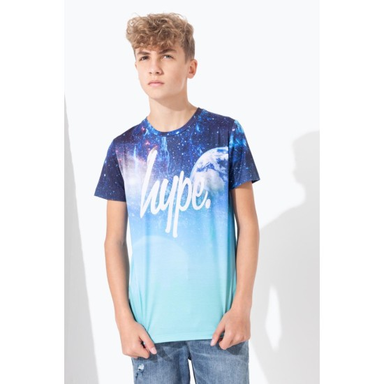 Hype Space Fade Kids T-Shirt Multi