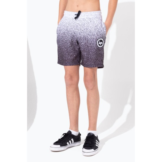 Hype Speckle Fade Kids Shorts White / Black