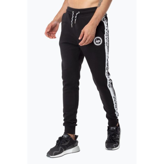 Hype Speckle Tape Joggers Black / White