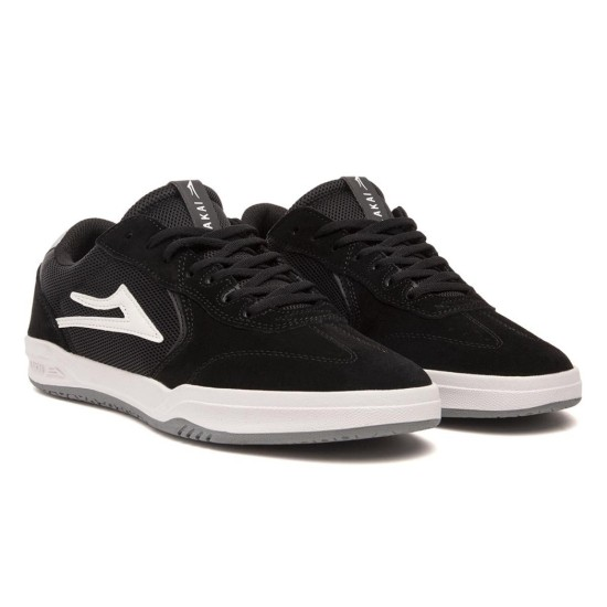 Lakai Atlantic Black / Light Grey Suede