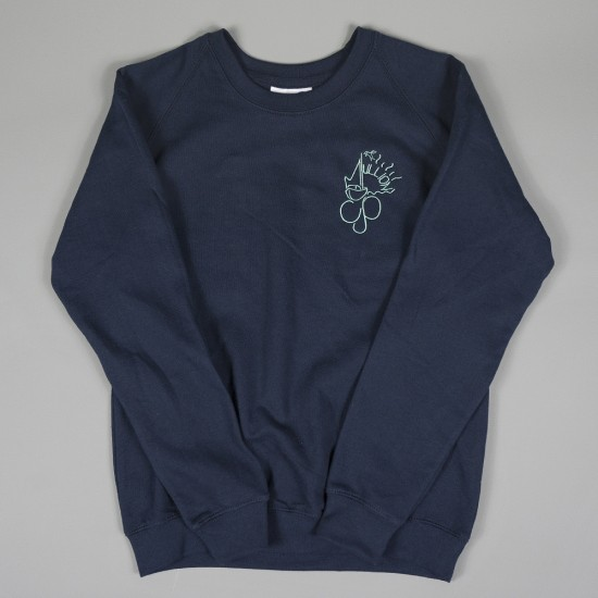 Mullion CP School Crew Sweat Navy