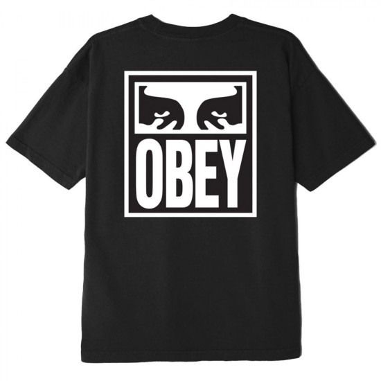 OBEY Eyes Icon 2 T-Shirt Black