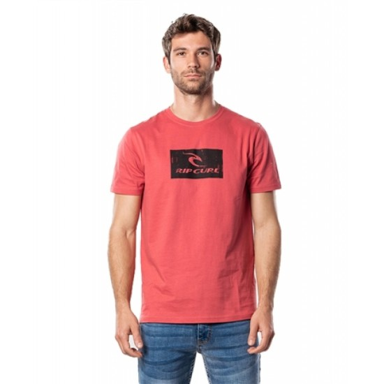 Rip Curl Hallmark T-Shirt Washed Red