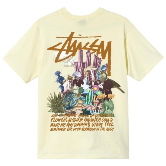 Stussy Psychedelic T-Shirt Yellow