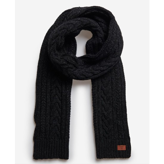 SuperDry Jacob Scarf Navy Blue