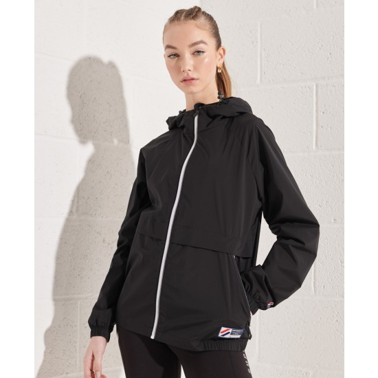 Superdry Sportstyle Cagoule Jacket Black