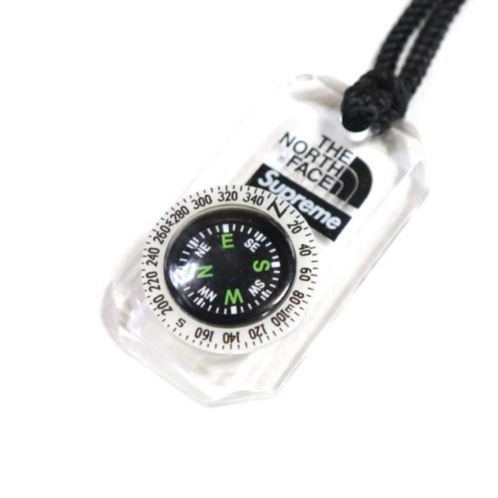 Supreme x The North Face Compass Necklace