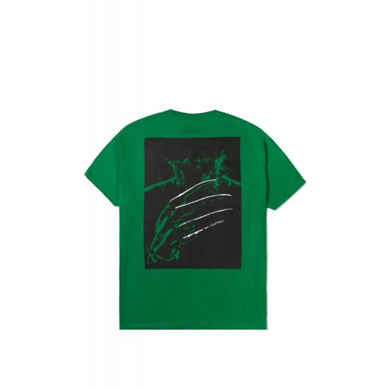 The Hundreds x A Nightmare On Elm Street Cover T-Shirt Green