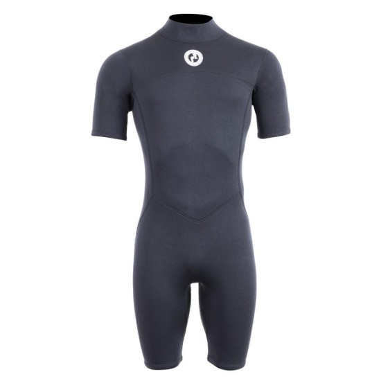 Two Bare Feet Thunderclap 2.5mm Mens Shorty Wetsuit (Black)