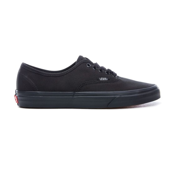 Vans Authentic Skate Shoes Black / Black