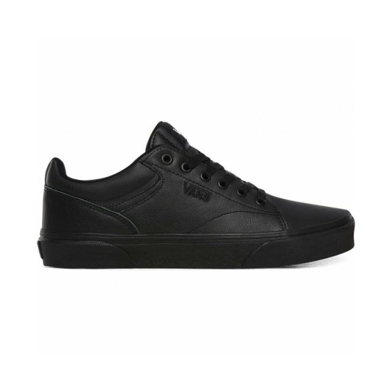 Vans Seldan Kids (Tumble) Black / Black