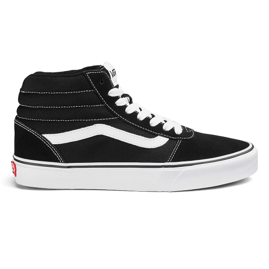 Vans Ward-Hi Skate Shoes Black / White